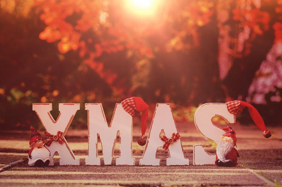 NÁpis Vánoce
