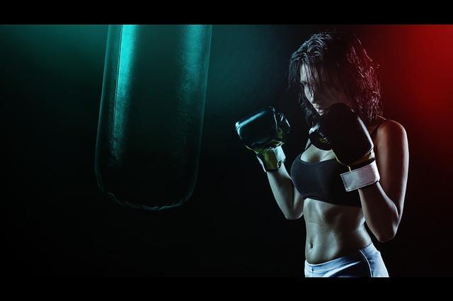 děvče boxer