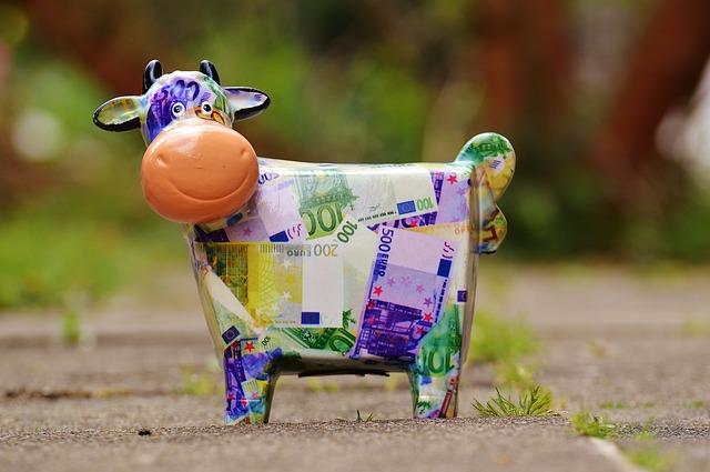 kravička, pokladnička