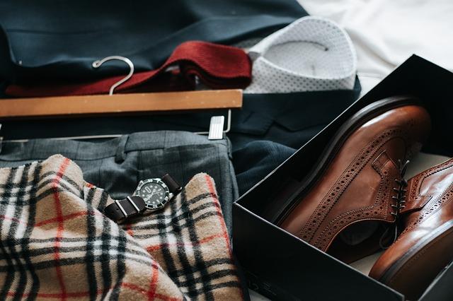 připravený oblek