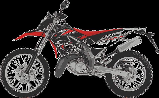 motorka na motocross