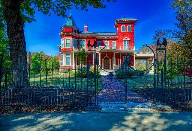 strašidelný dům Stephena Kinga