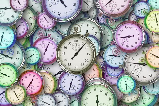 Časová vytíženost