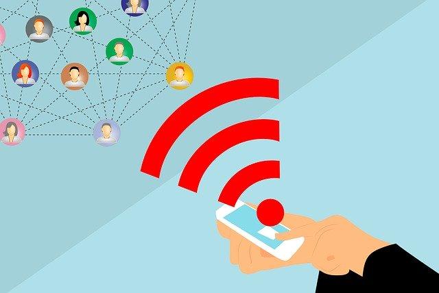 přijímání signálu internetu do mobilního telefonu