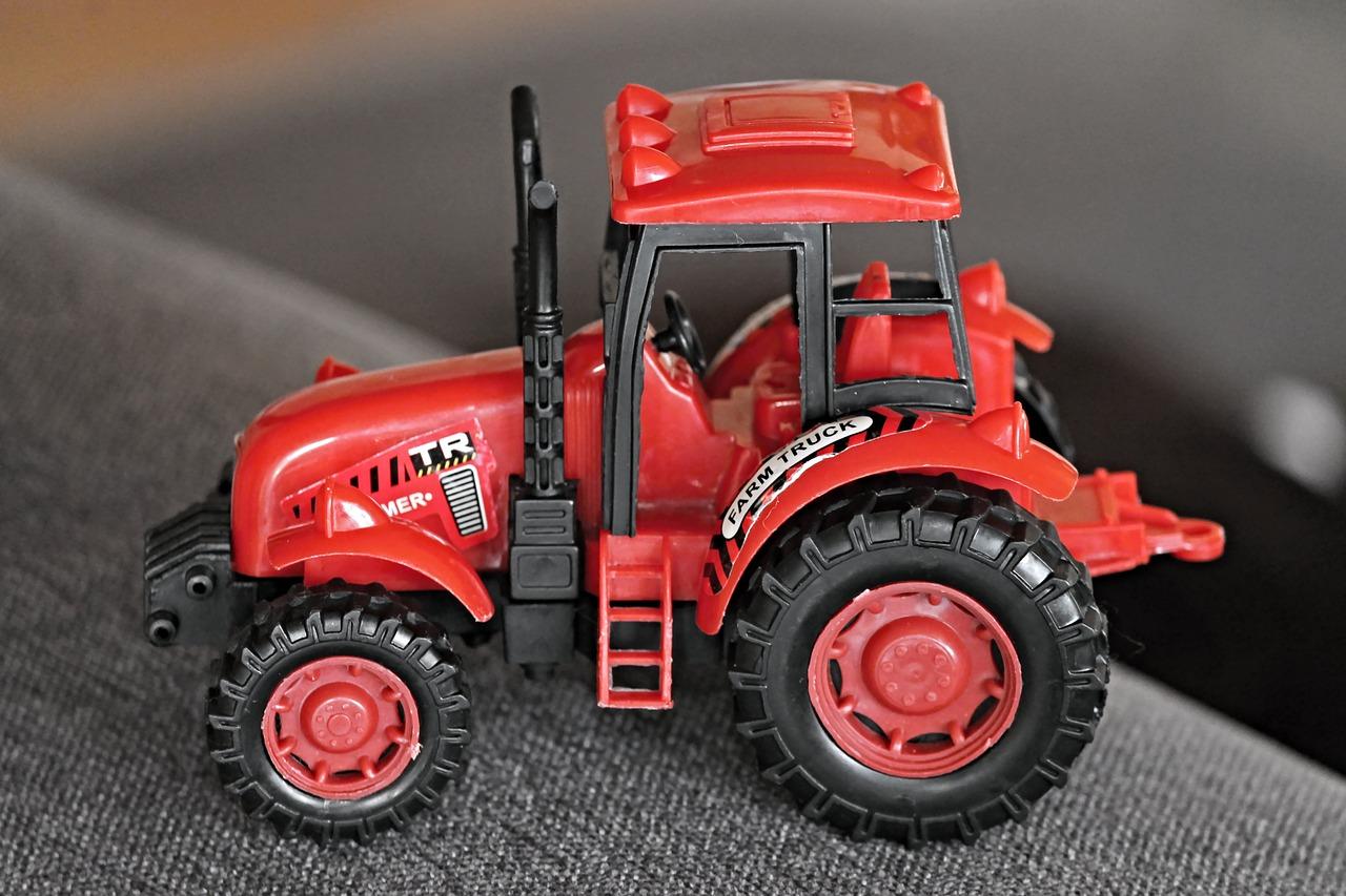 pojízdný traktor